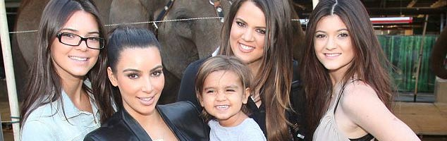 The Kardashians Hit the Circus With Little Mason