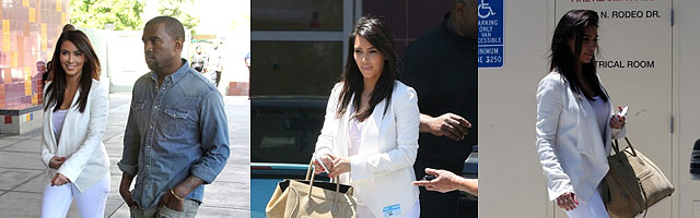 Kim and Kanye Children's Hospital photoset
