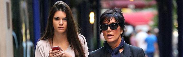 Kim Kardashian Supports Sister Kendall Jenner's Modeling Career
