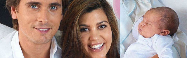 Kourtney Kardashian Introduces Baby Penelope Scotland to the World