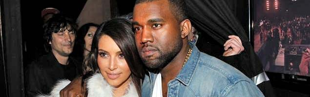 Kim Kardashian Hangs With the Family While Kanye West Does His Thing