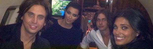 Kim Kardashian Attends the Democratic National Convention (Sort of)