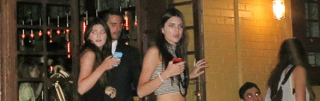Kendall and Kylie Jenner Take New York, With Scott Disick as Their Chaperone