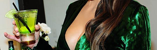 Kim Kardashian: Gorgeous or Garish in Green?