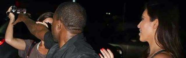 Kim Kardashian and Kanye West's Near Run-in with Reggie Bush: Yeezy Goes Nuts!
