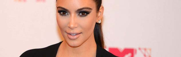 Kim Kardashian Attends the Marine Corps Ball