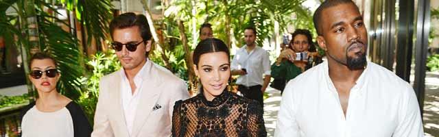 Kim Kardashian and Kanye West Double Dating With Kourtney and Scott