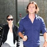 Kim with Jonathan Cheban