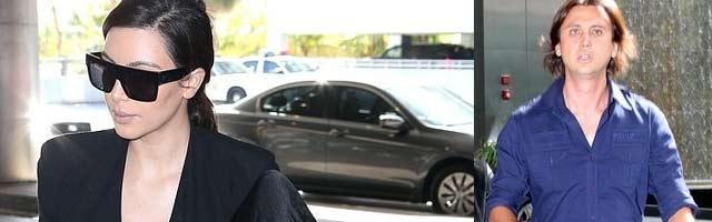 Kim Kardashian Spotted Leaving Plastic Surgeon's Office