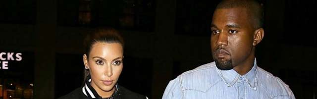 Kanye West and Kim Kardashian go in London for house hunting