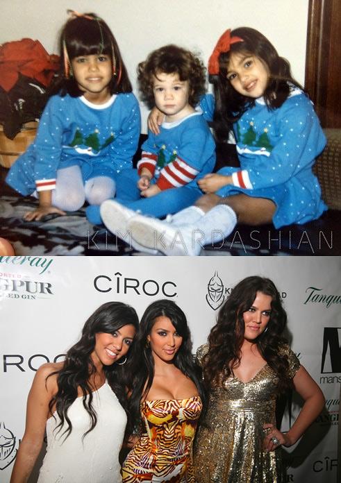 Kardashian sisters 1982