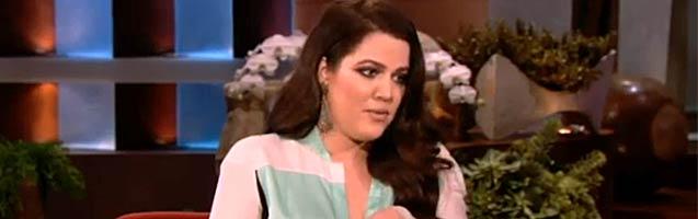 Khloe Kardashian Reveals a Huge Secret