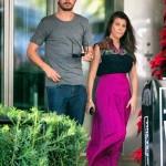Kourtney in Miami with Scott Disick