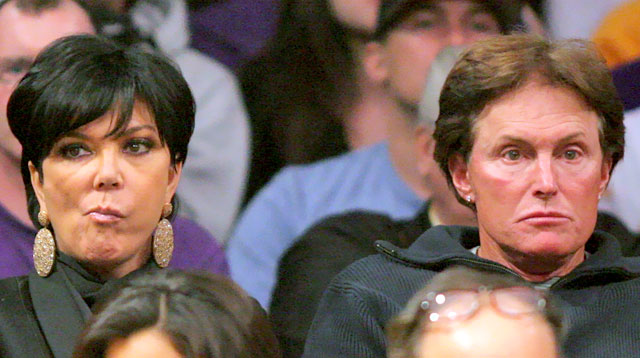 Kris and Bruce Jenner Splitsville
