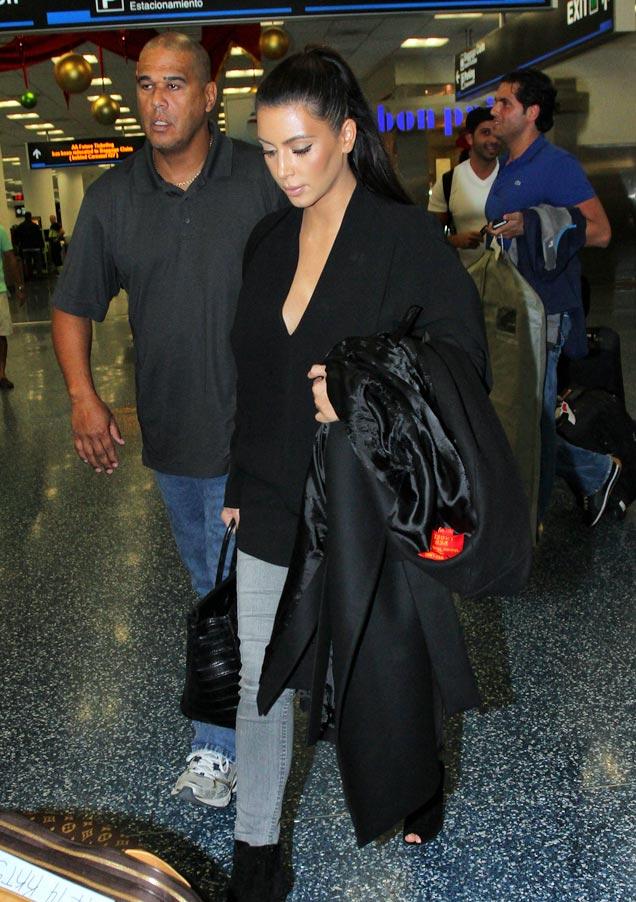 Kim Kardashian is Back in NYC