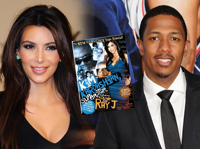 Kim Kardashian was Dumped by Nick Cannon Over her Sex Tape?