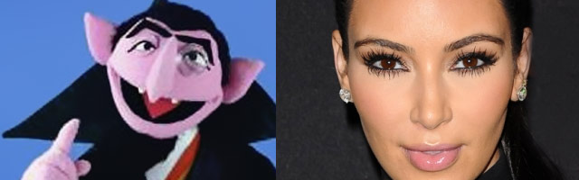 Is Kim Kardashian a Vampire?