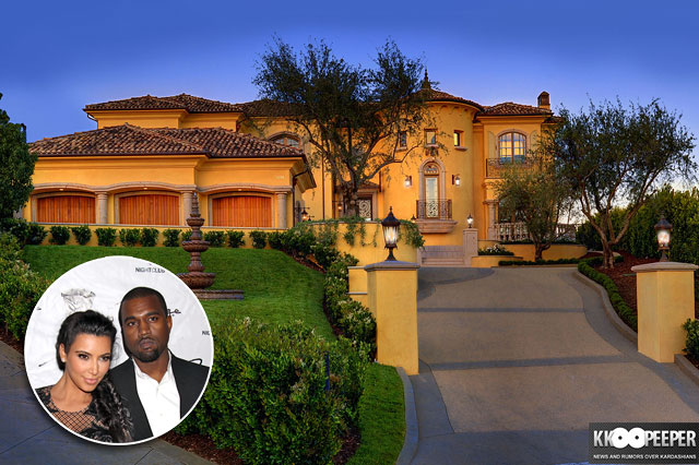 Kim Kardashian and Kanye West new mansion