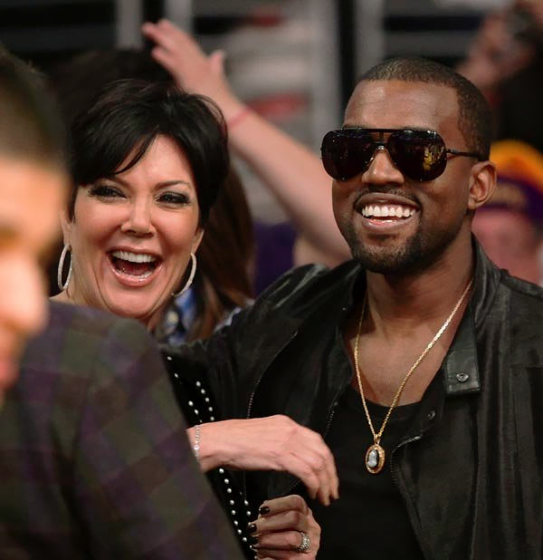 Kris Jenner and Kanye West?