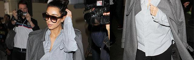 Kim Kardashian's Maternity Look: Frumpy or Chic?