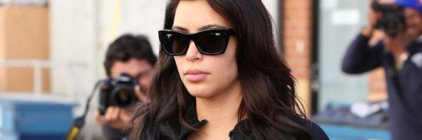 Pregnant Kim Kardashian is Staying in Shape