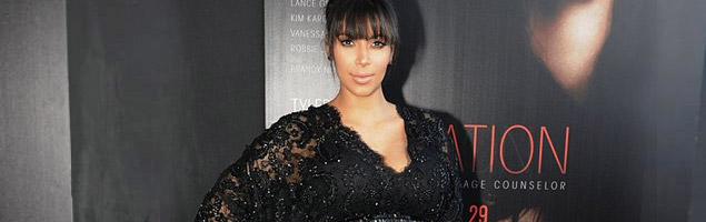 Kim Kardashian Looks Stunning at Tyler Perry Movie Premiere