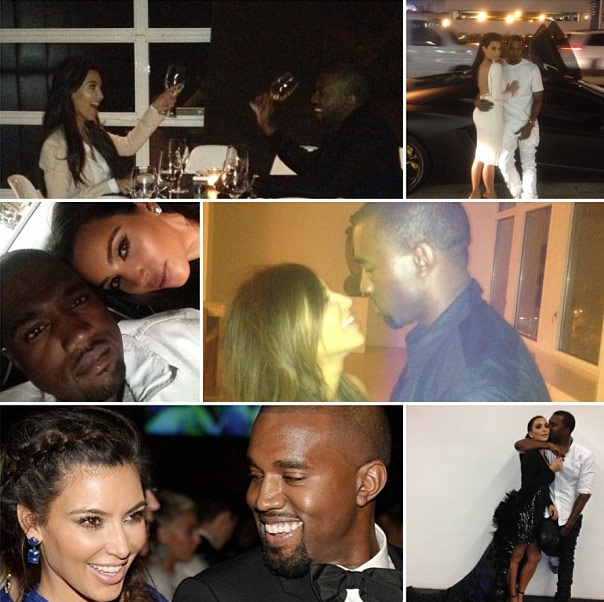 Kim Kardashian's baby daddy, Kanye West, celebrated his 36th birthday over the weekend