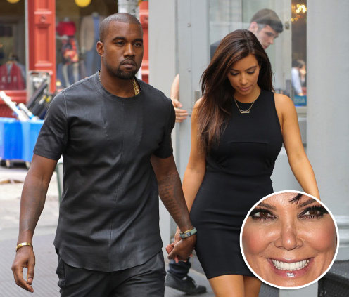 Kris Jenner Says Kim Don't Marry Kanye West