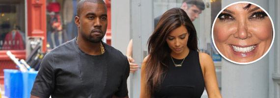 Kim Kardashian's Mom Says Don't Marry Kanye West
