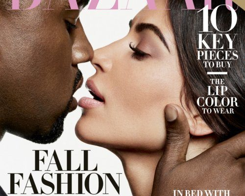 Kim Kardashian and Kanye West's provocative photoset for the Harper'sBazaar