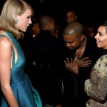 Kim Kardashian commented on West and Swift's conflict
