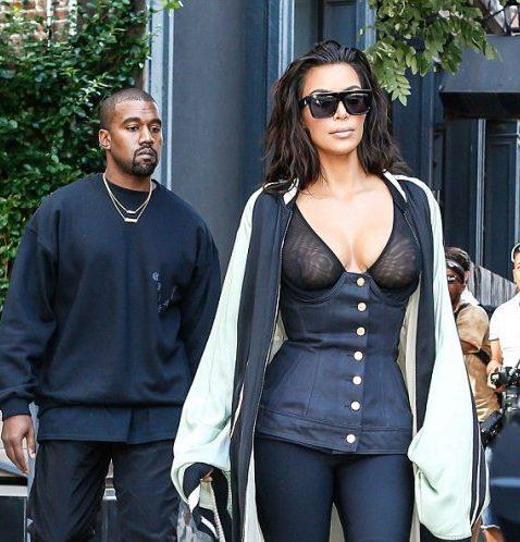 Kim Kardashian and her tasteless outfit
