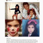 Kris Jenner shared personal photos of little Kim