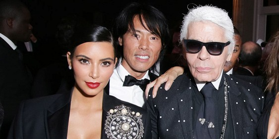 Karl Lagerfeld adviced Kim Kardashian to stop showing off