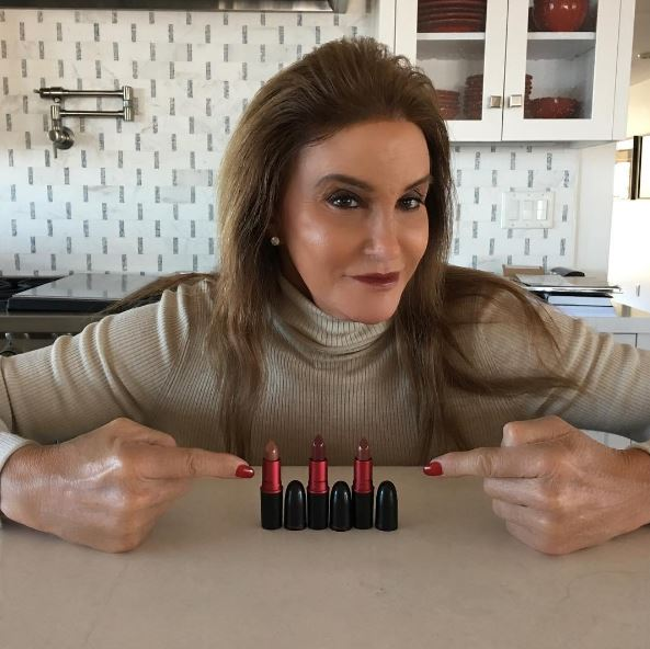 Caitlyn Jenner and her new collection with MAC