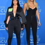 Perfect looks of Khloe and Kim Kardashian