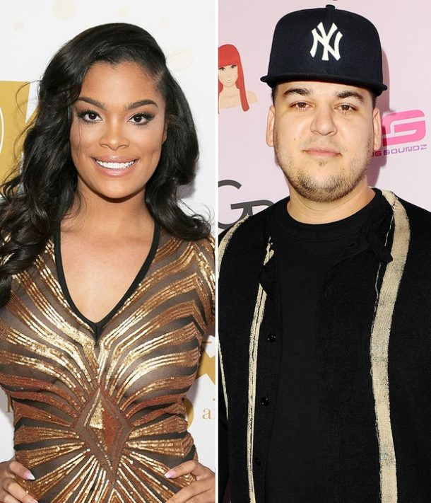 Rob Kardashian dates with a TV star Mehgan James