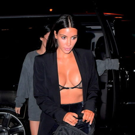Kim Kardashian bold enough to demonstrate her tiny bra