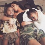 Kim Kardashian shared a touching photo with her fans