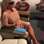 Kim Kardashian in Jacqueline Kennedy style