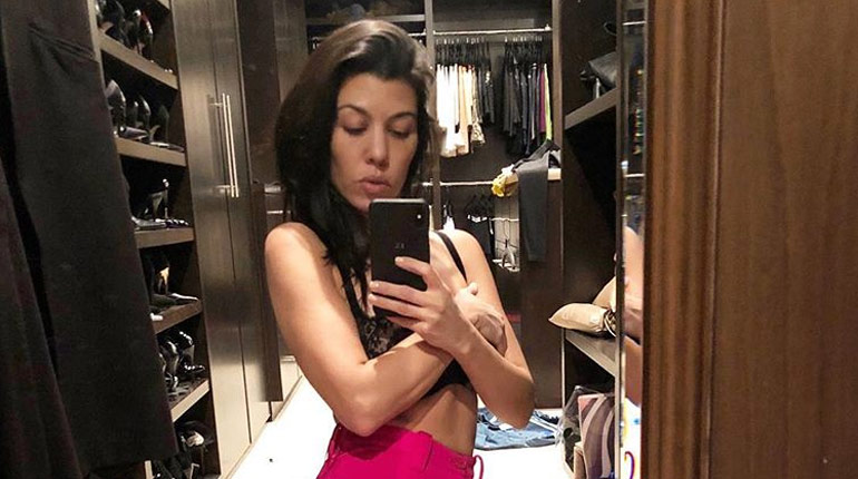 Kourtney Kardashian weighs slightly more than her 8-years-old son